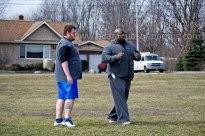 Coach Mount and Ben Marotta